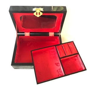 NEW Lacquerware Jewelry Box